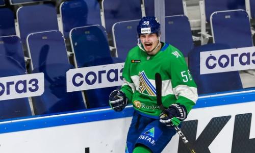 «Был очень доволен!» Хоккеист «Салавата Юлаева» вспомнил историческую для себя шайбу «Барысу»