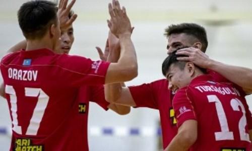 «Кайрат» вновь забил «Аяту» девять мячей в матче чемпионата РК