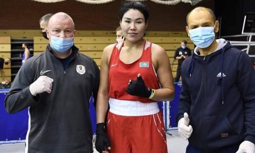 Призерка ОИ-2016 из Казахстана по боксу стартовала с победы на турнире в Венгрии