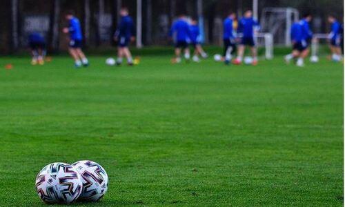 «Астана» показала тренировку команды перед матчем с клубом РПЛ. Фото