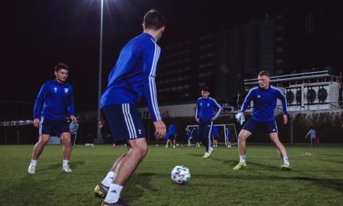 «Жетысу» уверенно победил российский клуб в первом матче на УТС