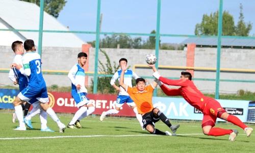 «Академия Оңтүстік» разгромила свой фарм-клуб в товарищеском матче