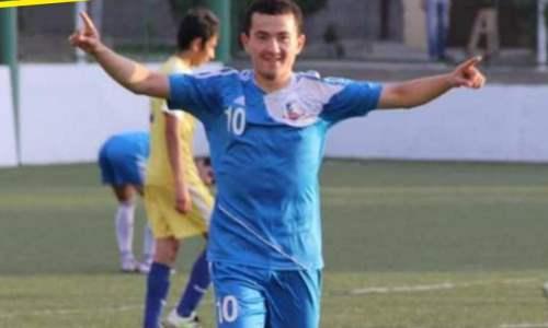 Казахстанский футболист сменил команду в Кыргызстане