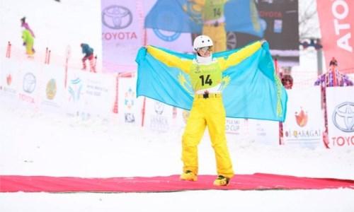 Казахстанка завоевала «золото» на Кубке Северной Америки по фристайл-акробатике