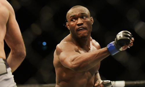 Видео убойного нокаута, или как Камару Усман защитил свой титул чемпиона UFC