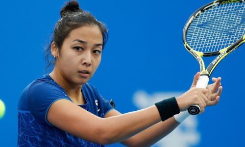 Зарина Дияс пробилась в 1/8 финала турнира WTA в Мельбурне