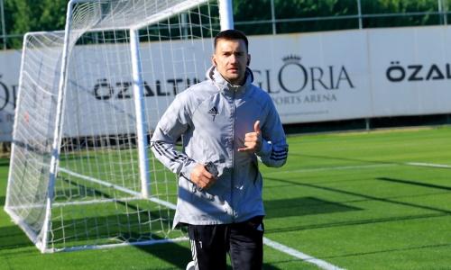 Футболист сборной Казахстана вернулся к тренировкам в «Тоболе» после травмы