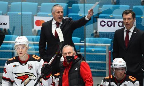 «Авангард» дважды умело выбросил свои козыри, но все равно уступил «Барысу» в КХЛ