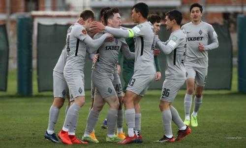 Фарм-клуб «Кайрата» разгромил молодежку «Краснодара» в товарищеском матче