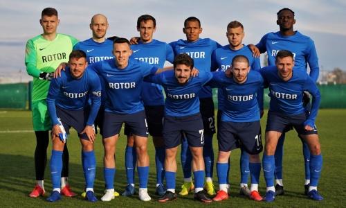Появился видеообзор победного матча «Ротора» с участием игроков сборной Казахстана