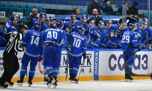 «Барыс» назвал состав на матч КХЛ с «Автомобилистом»
