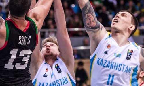 Казахстанские баскетболисты разнесли Палестину в отборе на Кубок Азии