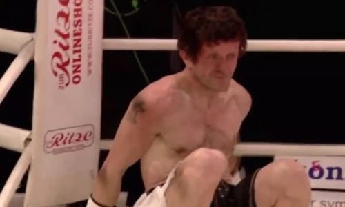 Нокаутом за 80 секунд начался вечер бокса с титульным боем казахстанца. Видео