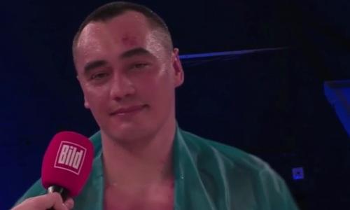 «Это произошло». Жан Кособуцкий прокомментировал выигранный бой за титул WBA