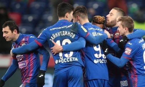 Зайнутдинов попал в стартовый состав ЦСКА на первый официальный матч в 2021 году