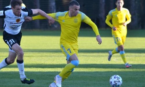 Прямая трансляция товарищеского матча «Астана» — «Рух»