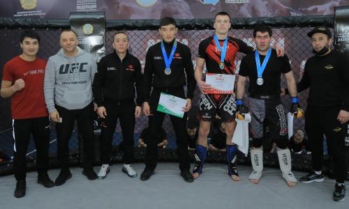 Стали известны призеры чемпионата Казахстана по ММА