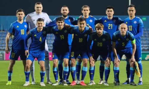 Стал известен соперник сборной Казахстана перед матчем с Францией в отборе ЧМ-2022