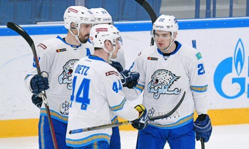 «Барыс» объявил состав на выездной матч КХЛ против «Ак Барса»