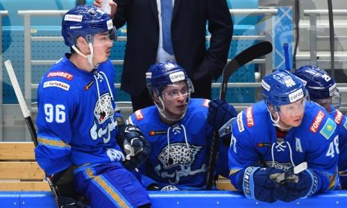 «Барыс» узнал свое место в рейтинге самых играющих команд КХЛ после домашнего разгрома от «Сибири»