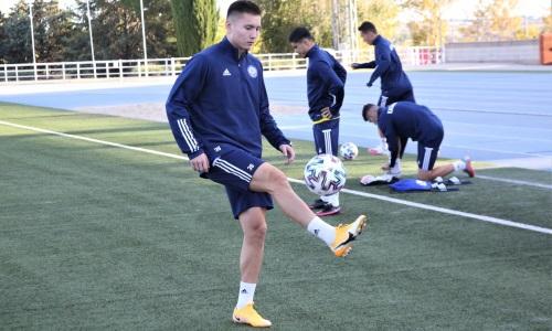 Игрок молодежной сборной Казахстана тренируется в расположении «Актобе»
