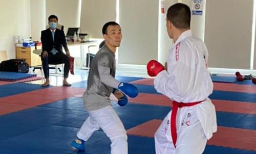 Сборная Казахстана по каратэ проводит совместные УТС в Дубае