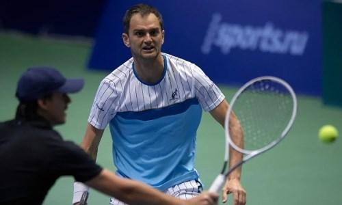 Недовесов вышел в парный четвертьфинал «Челленджера» в Нур-Султане