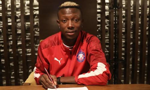 Нигерийский полузащитник подписал контракт с казахстанским участником еврокубков