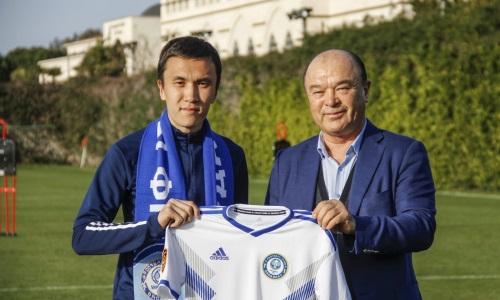 «Ордабасы» объявил о подписании контракта с известным казахстанским футболистом