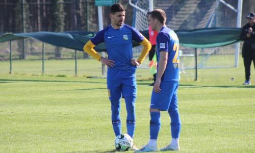«Каспий» сыграл вничью с призером европейского чемпионата