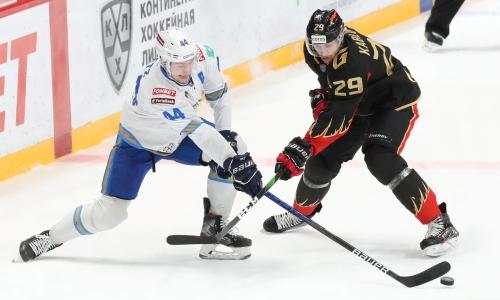 Прямая трансляция выездного матча «Барыса» против «Авангарда» в КХЛ