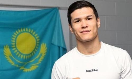 Данияр Елеусинов узнал дату следующего боя после победы нокаутом над экс-чемпионом мира