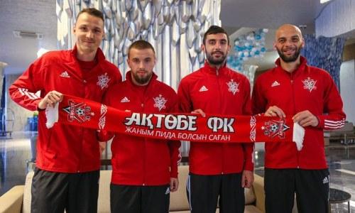 «Актобе» объявил о подписании пятерых новичков