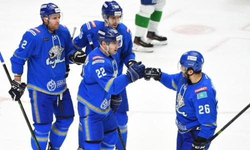 «Барыс» узнал соперника по первому раунду плей-офф КХЛ