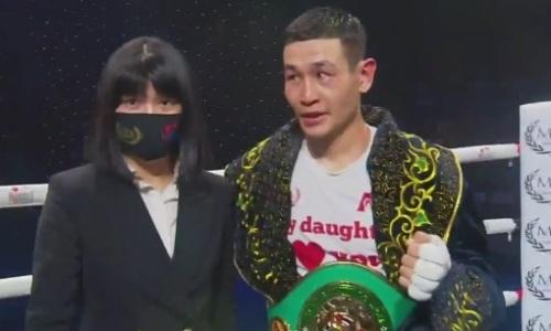 Казахстанский боксер из компании Сондерса и Фьюри стал чемпионом WBC