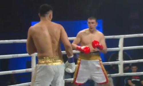 Забил до отказа. Видео полного боя Камшыбека Кункабаева за титул WBO