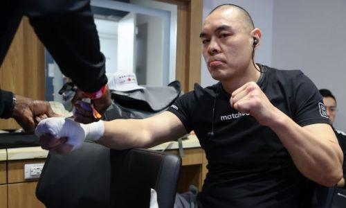 Китайский супертяж оконфузился в андекарде у «Канело». Видео