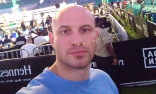 Иван Дычко побывал на бое «Канело» и показал фото с Кроуфордом