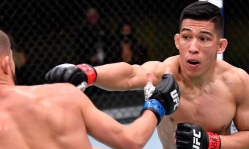 Видео единственного нокаута на турнире UFC Fight Night 186