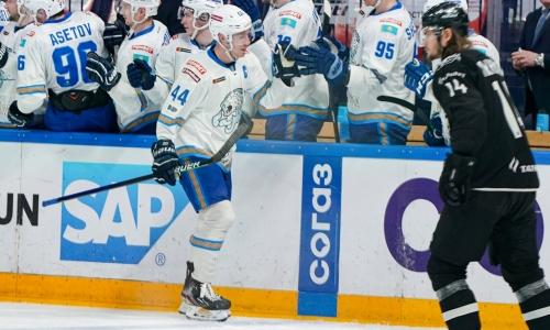 Капитан «Барыса» вошел в число лучших игроков последней недели «регулярки» КХЛ