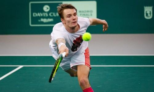 Бублик проиграл в финале турнира ATP в Сингапуре