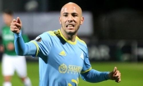 Бывший футболист «Астаны» зашнуровал бутсы сопернику. Фото