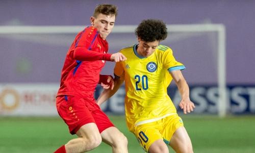 Появился видеообзор матча «Кубка Развития» Молдова U-16 — Казахстан U-17 0:5