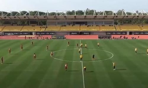Видеообзор товарищеского матча «Кайрат» — «Рух» 0:2