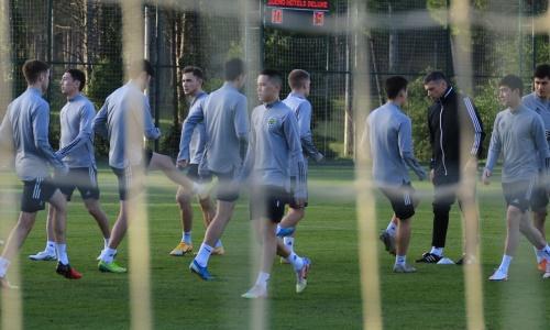 «Тобол» представил фото с очередной тренировки на УТС в Анталье