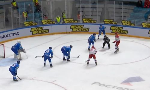Видеообзор матча «Kazakhstan Hockey Open» Казахстан — Россия 2:1