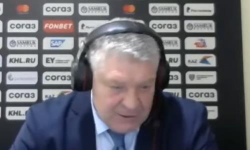 Видео послематчевой пресс-конференции игры КХЛ «Барыс» — «Автомобилист» 2:1