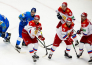 Фоторепортаж с матча «Kazakhstan Hockey Open» Казахстан — Россия 2:1