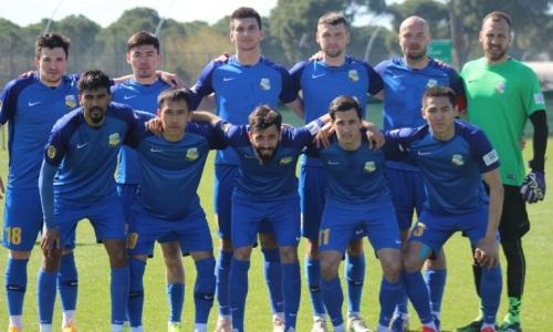 «Каспий» обыграл четырехкратного чемпиона Кыргызстана в товарищеском матче
