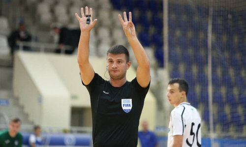 Стало известно, кто рассудит матч отбора ЕВРО-2022 Казахстан — Беларусь